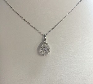 Dancing Diamond Pendent - Custom Diamond Pendent made by Anita's Jewelers