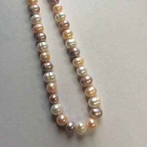 Multi Colored Pearl, 16 in""